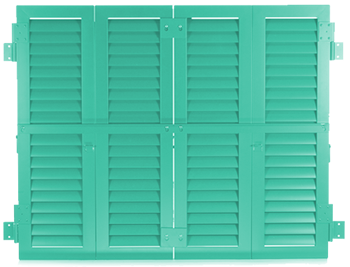 Master Aluminum - Colonial Shutters