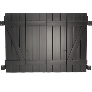 Master Aluminum - Board and Batten Colonial Shutter