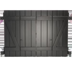 Master Aluminum - Board and Batten Colonial Shutter