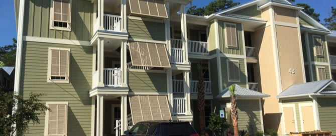 Apartment Shutters | Jacksonville | Master Aluminum