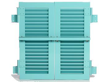 Colonial shutter Manufacturer | Bradenton | Master Aluminum